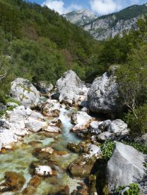 Tolminka-Fluß